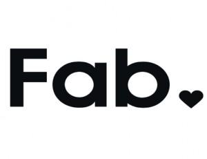 fab logo, fab.com logo, Fab company logo