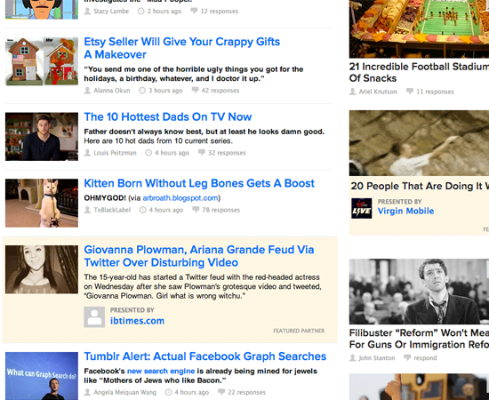 native advertising example, buzzfeed advertising, buzzfeed native advertising, buzzfeed featured content, buzzfeed