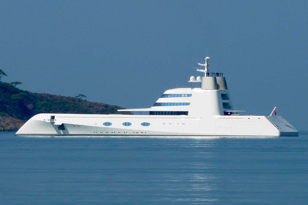 Andrewy Melnichenko Modern Mega yacht, andrewy melnichenko super yacht a, super yacht A, modern yacht
