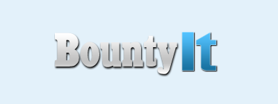 bountyit logo, bountyit website logo