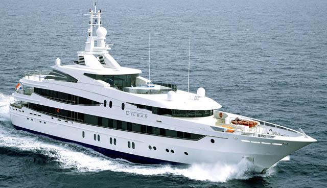 Alisher Usmanov Yacht, Alisher Usmanov superyacht, russian billionaire superyacht