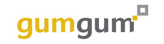 GumGum in image ad logo, gumgum company logo, gumgum logo big